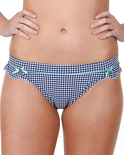 GINGHAM STYLE HIPSTER NAVY