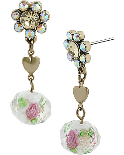 GIRLIE GRUNGE FLOWER MULTI EARRING MULTI