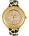 GOLD FACE LEOPARD WATCH LEOPARD