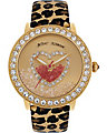 GOLD LEOPARD STRAP WATCH LEOPARD