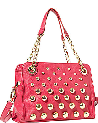 GREAT BALLS OF FIRE SATCHEL FUCHSIA