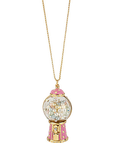 GUM BALL MACHINE PENDANT PINK