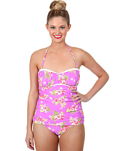 HAWAIIAN VACATION ONE PIECE LILAC