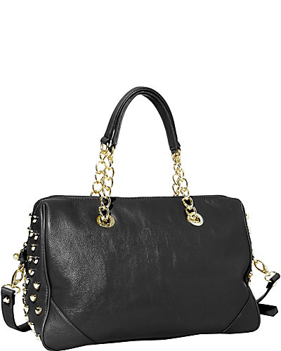 HEART ATTACK SATCHEL BLACK