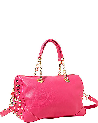 HEART ATTACK SATCHEL PINK