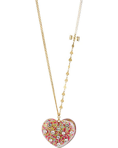 HEART CANDY FILLED PENDANT MULTI