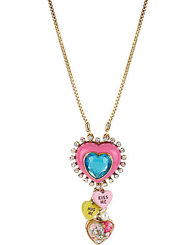 HEART CANDY MULTI Y NECKLACE MULTI