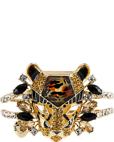HOLLYWOOD GLAM LEOPARD BANGLE LEOPARD