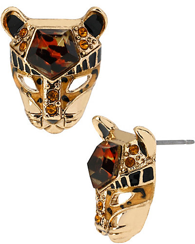 HOLLYWOOD GLAM LEOPARD STUD LEOPARD