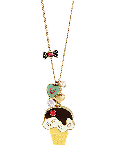 ICE CREAM CONE PENDANT MULTI