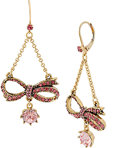 ICONIC PINKALIOUS BOW CHANDELIER FUSCHIA