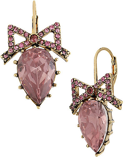 ICONIC PINKALIOUS DROP EARRING FUSCHIA