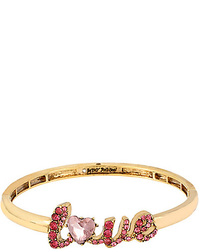 ICONIC PINKALIOUS LOVE BANGLE FUSCHIA