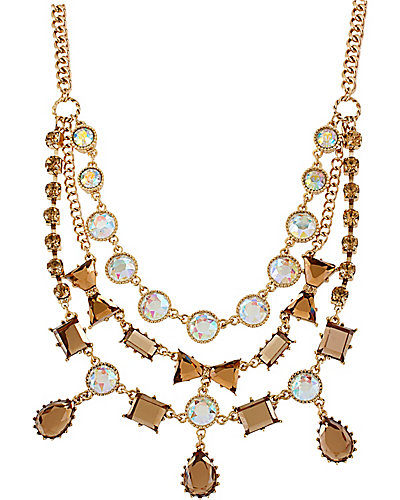 ICONIC TOPAZ GEM NECKLACE TOPAZ