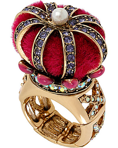 IMPERIAL CROWN RING PINK
