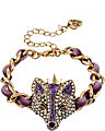 IMPERIAL FOX RIBBON BRACELET PURPLE