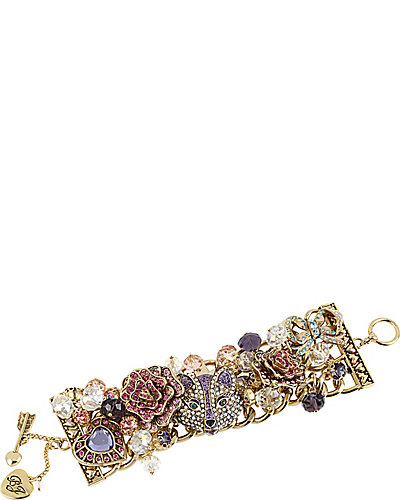 IMPERIAL FOX ROSE TOGGLE BRACELET PURPLE