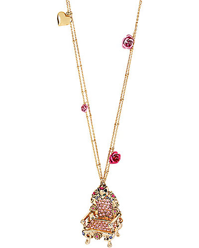 IMPERIAL THRONE PENDANT PINK