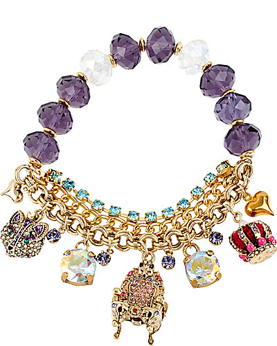 IMPERIAL THRONE STRETCH BRACELET PURPLE