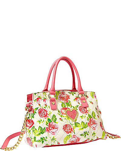 INTO THE DEEP SATCHEL FLORAL