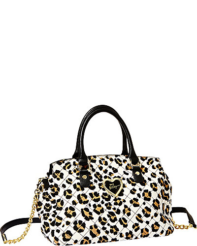 INTO THE DEEP SATCHEL LEOPARD