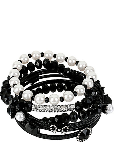 JET SET BANGLES SET OF 7 CRYSTAL