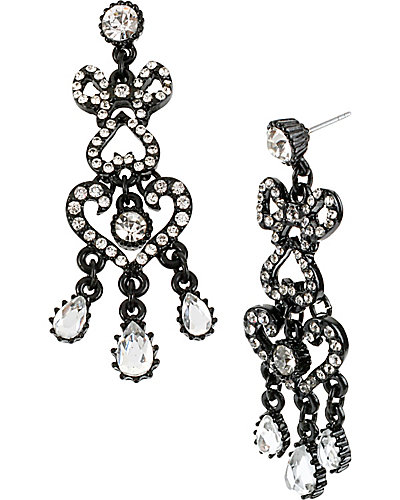 JET SET CHANDLIER EARRING CRYSTAL