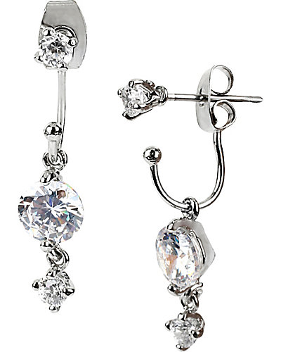 JET SET CRYSTAL DROP EARRING CRYSTAL