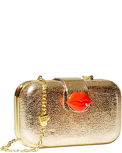 KISS CLOSURE CLUTCH GOLD