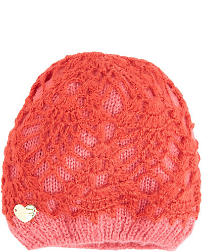LACEY KNIT SKULL CAP RED