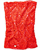 LACEY KNIT SNOOD RED