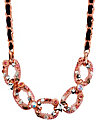 LINK FRONTAL NECKLACE PINK