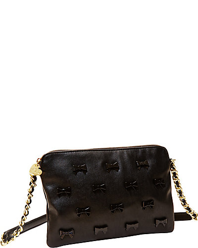 LITTLE BOW CHIC CROSSBODY BLACK