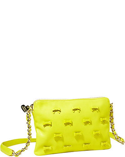 LITTLE BOW CHIC CROSSBODY CITRON