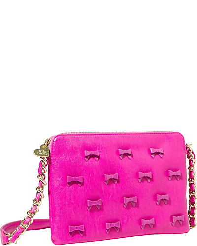 LITTLE BOW CHIC CROSSBODY FUCHSIA