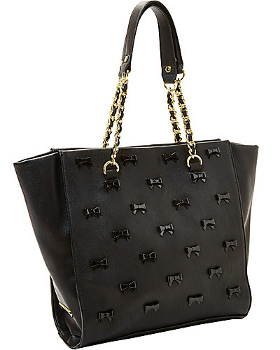 LITTLE BOW CHIC TOTE BLACK