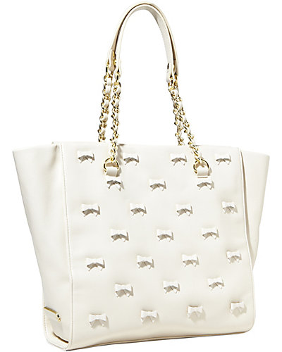 LITTLE BOW CHIC TOTE CREAM