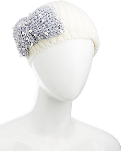 LITTLE PEARLS OF WISDOM BERET WHITE