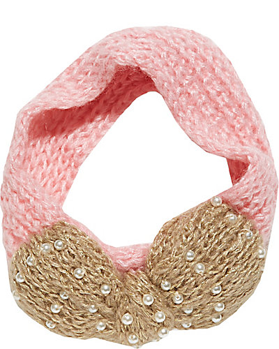 LITTLE PEARLS OF WISDOM HEADBAND PINK