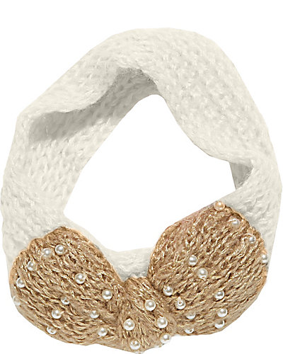 LITTLE PEARLS OF WISDOM HEADBAND WHITE