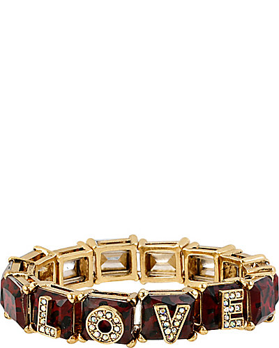LOVE LEOPARD STRETCH BRACELET LEOPARD