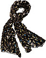 LOVE SEQUIN WRAP BLACK