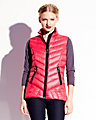 MARSHMALLOW DOWN VEST HOT PINK