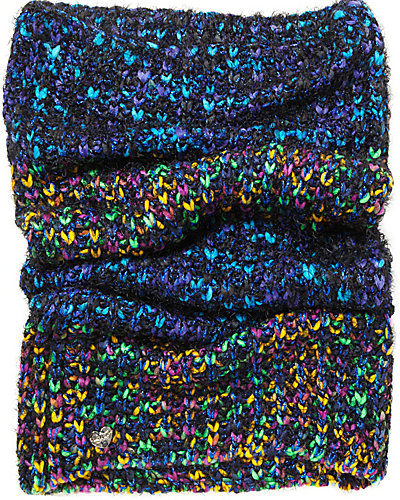MELANGE A TROIS SNOOD BLUE MULTI