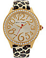 METALLIC LEOPARD STRAP WATCH LEOPARD