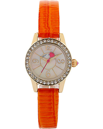 MINI ORANGE STRAP WATCH ORANGE