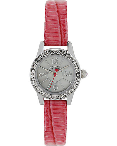 MINI PINK STRAP WATCH PINK