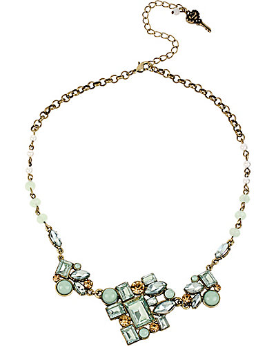 MINT CLUSTER NECKLACE MINT