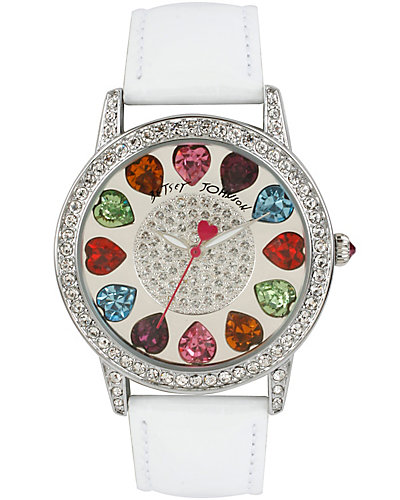 MULTI COLOR HEARTS WATCH MULTI