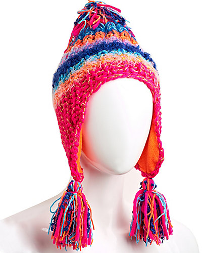 MULTI PLEX EARFLAP HAT BRIGHT